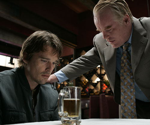 Philip Seymour Hoffman and Ethan Hawke