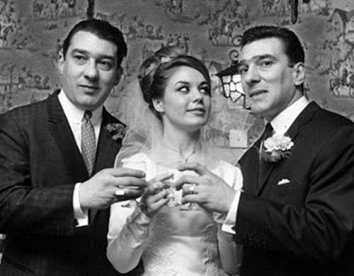 Reg, Frances and Ron